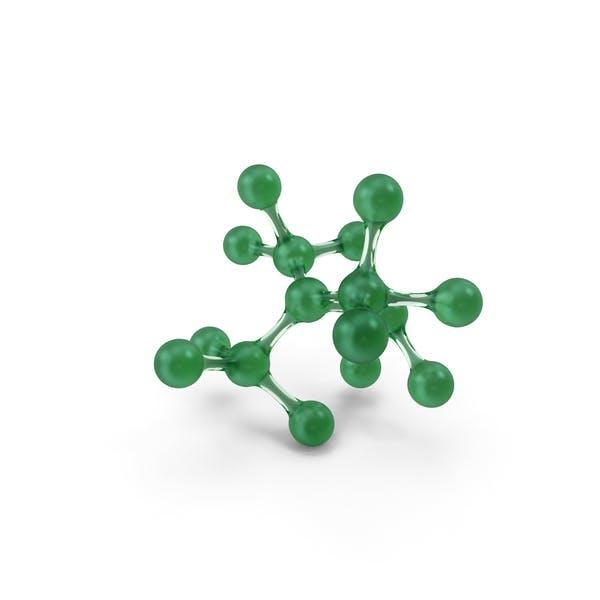 Stylized Molecule