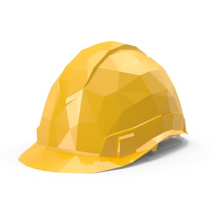 Low Poly Hard Hat