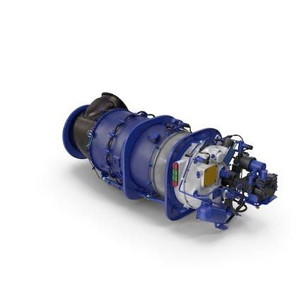 Turbowellen-Motor