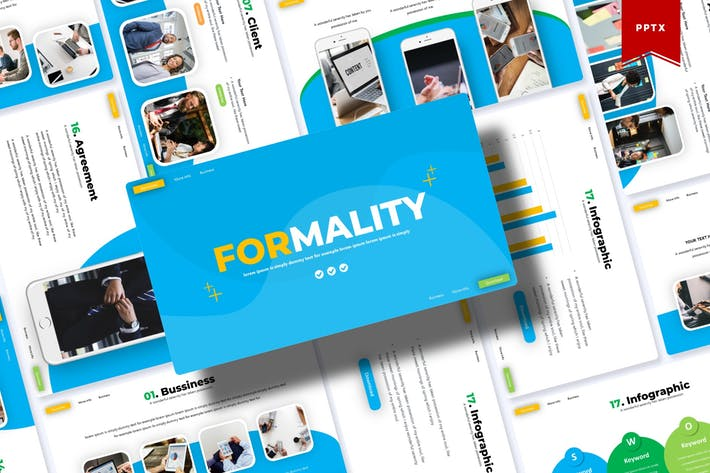 Thumbnail for Formality | Powerpoint Template