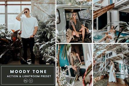Moody Tone Action & Lightrom Presets