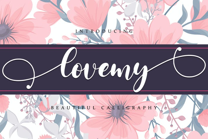 Thumbnail for Lovemy - Beautiful script