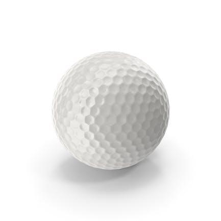 Realistischer Golfball