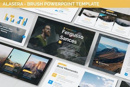 Alasera - Brush Powerpoint Template