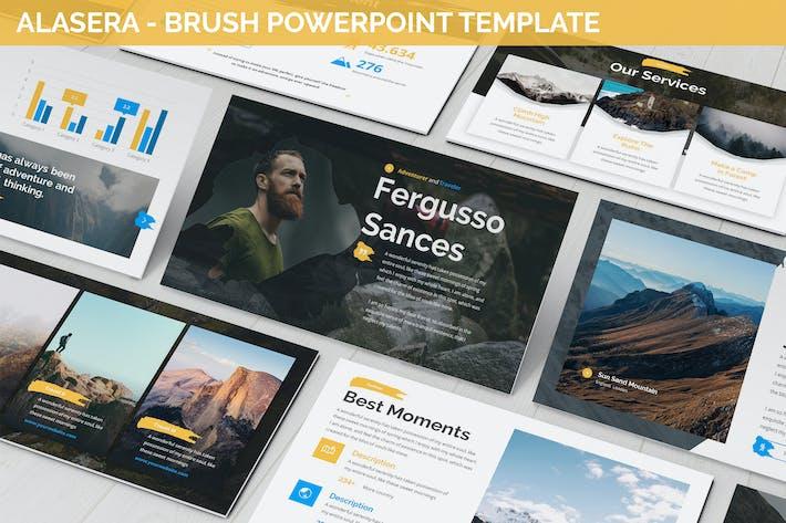 Thumbnail for Alasera - Brush Powerpoint Template