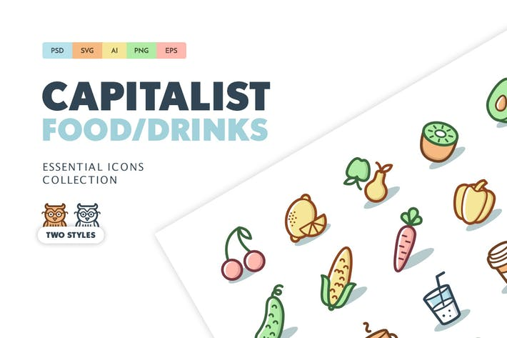 Thumbnail for Capitalist Icons: Food and Drinks