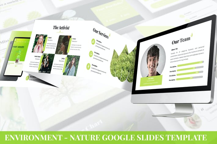 Cover Image For Environment - Nature Google Slides Template