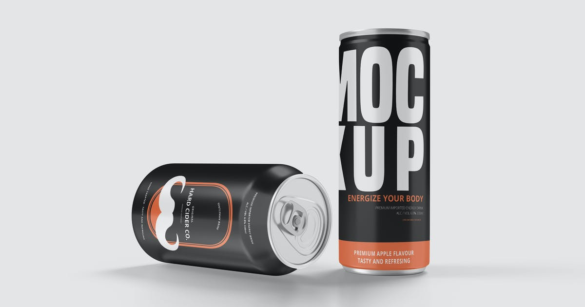 Download Softdrink Can Product Mockup Vol. 2.3 by indotitas