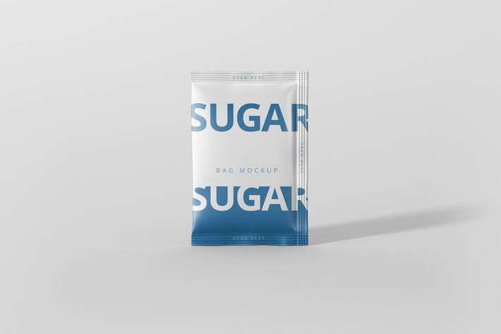 Thumbnail for Salt / Sugar Bag Mockup - Rectangle