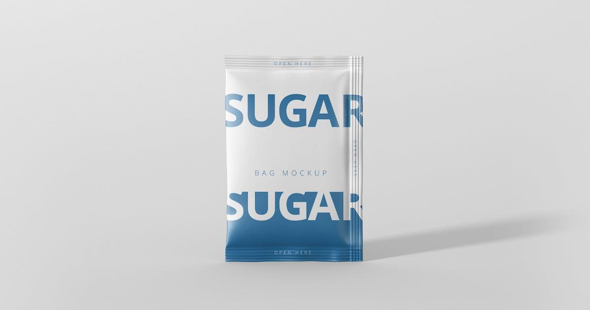 Download Salt / Sugar Bag Mockup - Rectangle by visconbiz