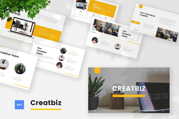 Thumbnail for Creative Business Keynote Template