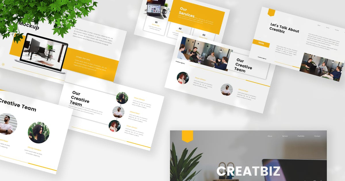 Download Creative Business Keynote Template by StringLabs