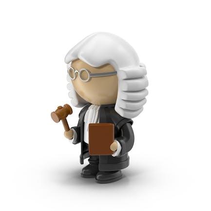 Cartoon Judge Character