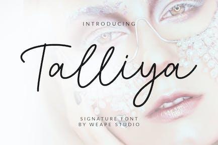 Police Signature Talliya