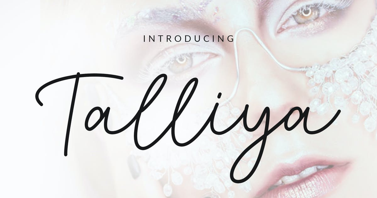 Download Talliya Signature Font by weapedesign