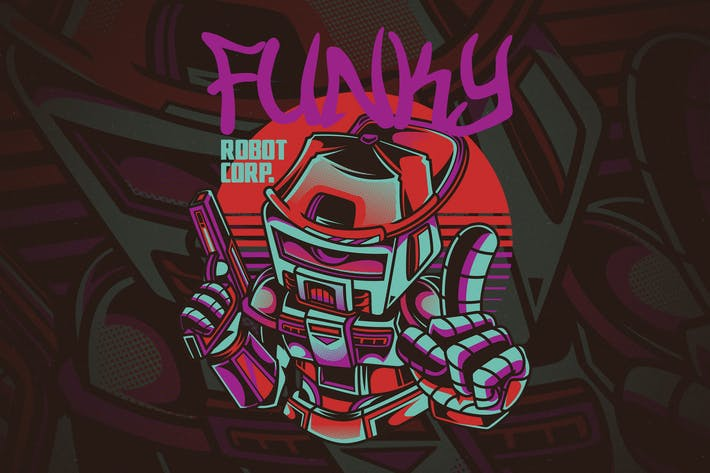 Thumbnail for Funky Robot