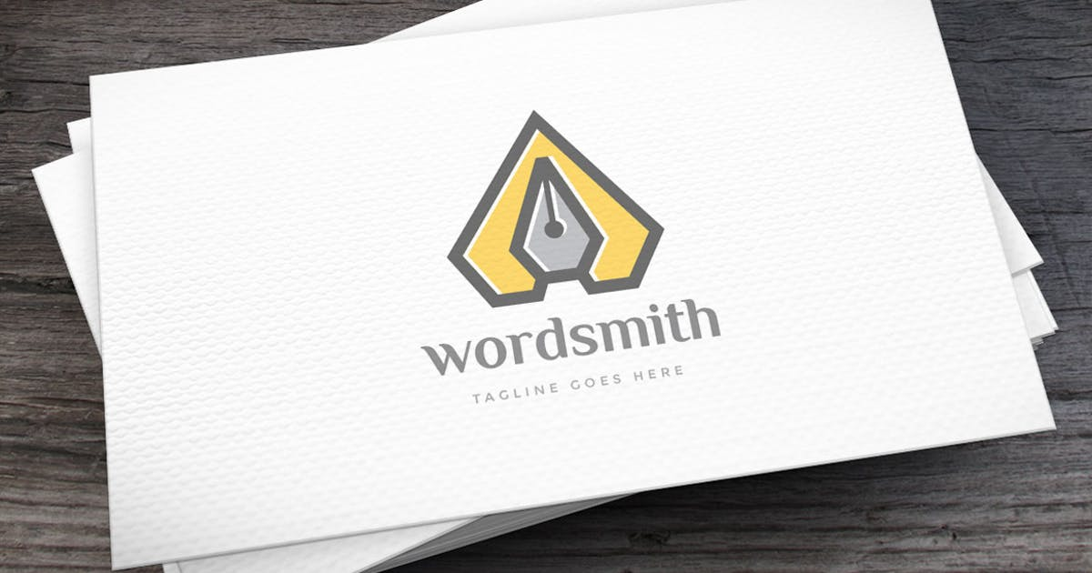 Download Wordsmith Logo Template by empativo