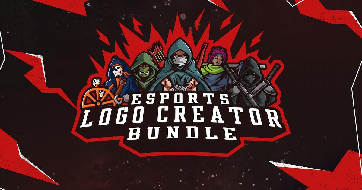 Download E Sports Logo Bundle by ovozdigital