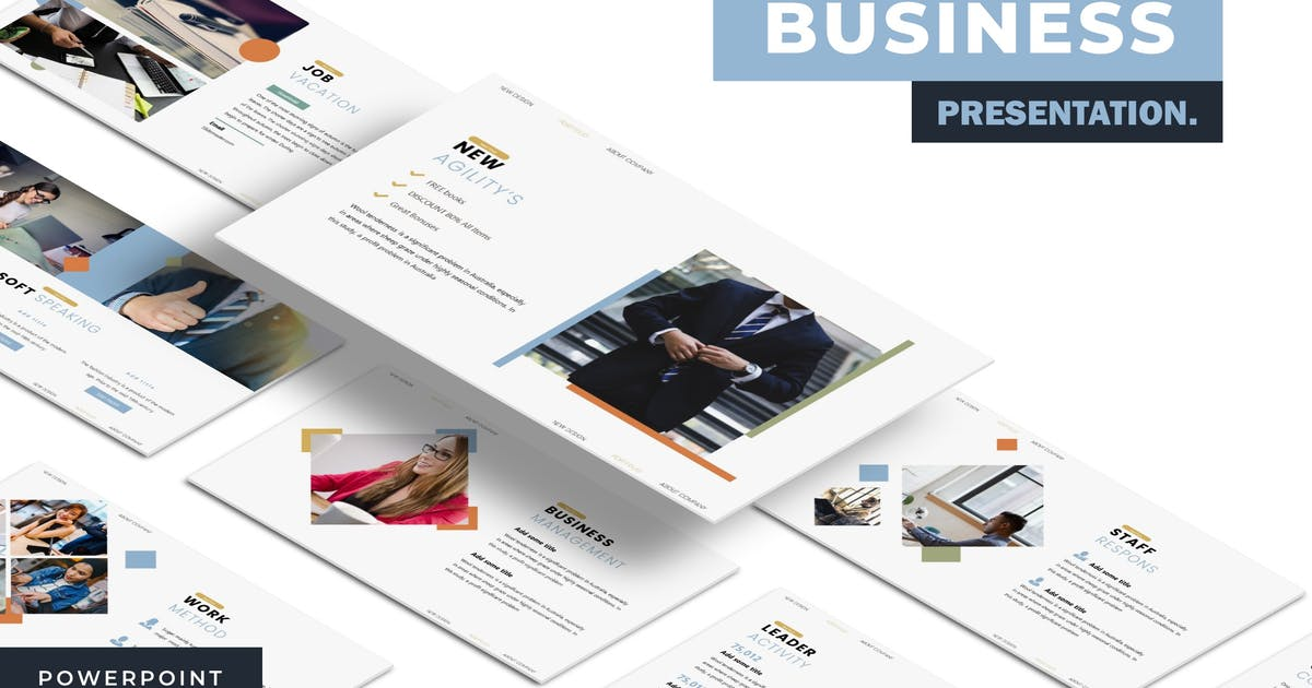 Download Business - Powerpoint Template by karkunstudio