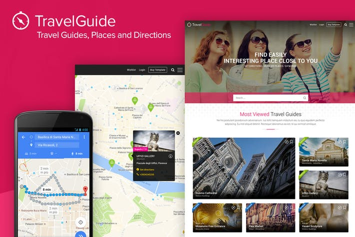 Thumbnail for TravelGuide - Travel Guides, Places and Directions