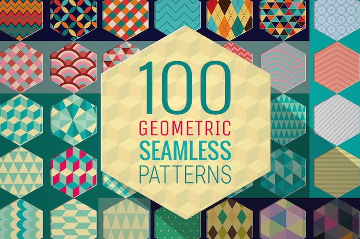 Thumbnail for 100 geometrische Muster