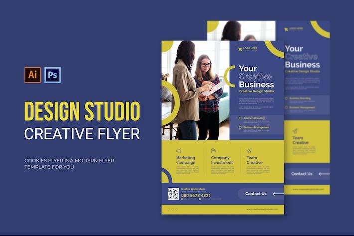 Design Studio - Flyer