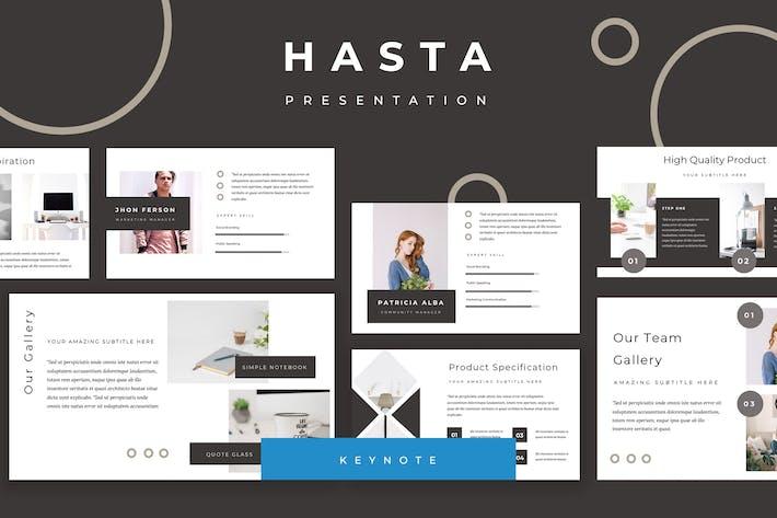Hasta Keynote Presentation