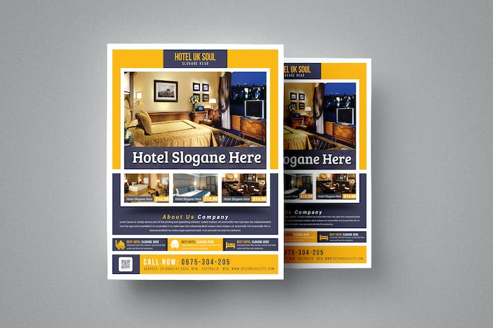 Thumbnail for Hotel Flyer