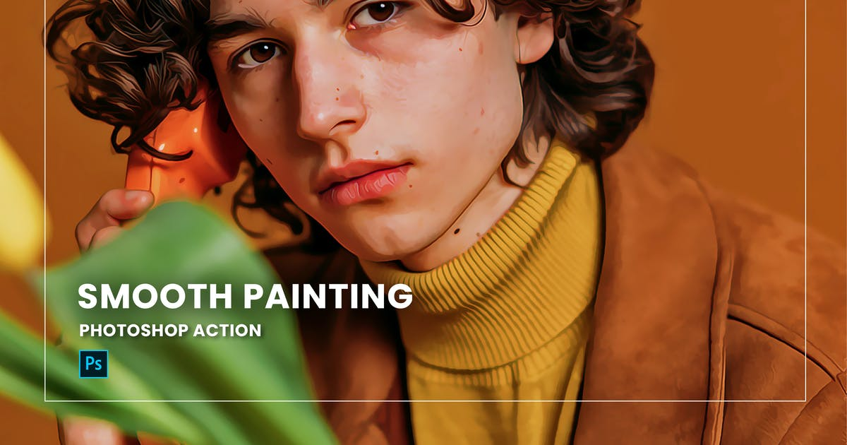 Download Smooth Painting Photoshop Action by nmc2010