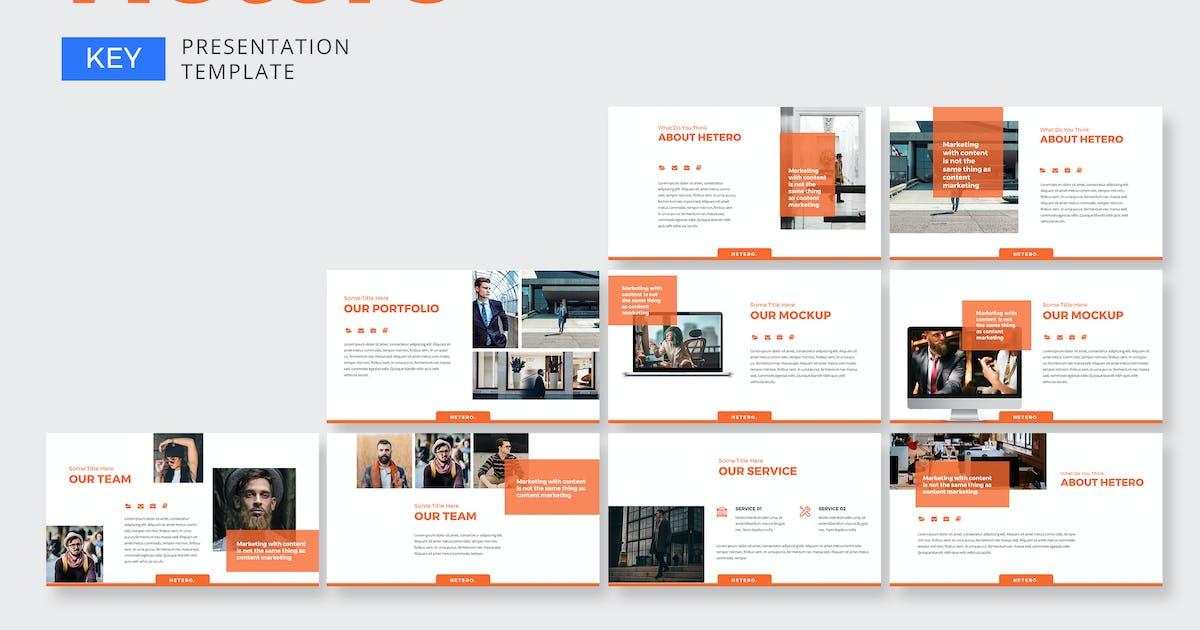 Download Hetero Marketing - Keynote by graptailtype