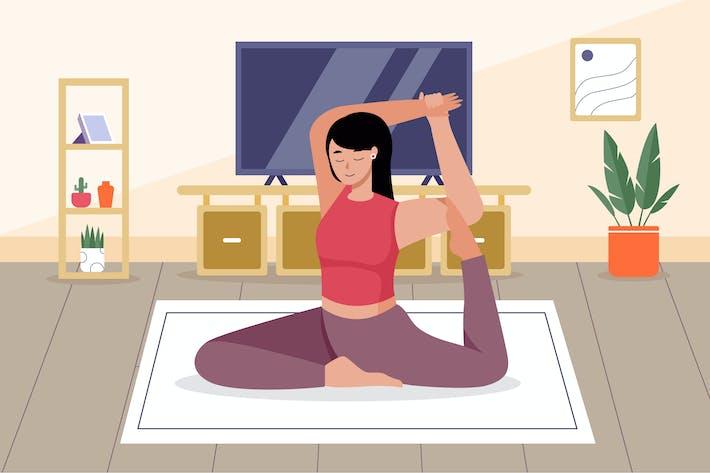 Workout-Abbildung