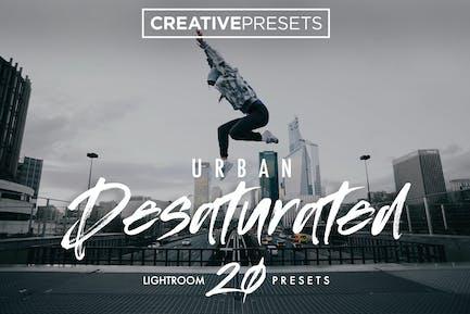 Urban Desaturated Lightroom Presets