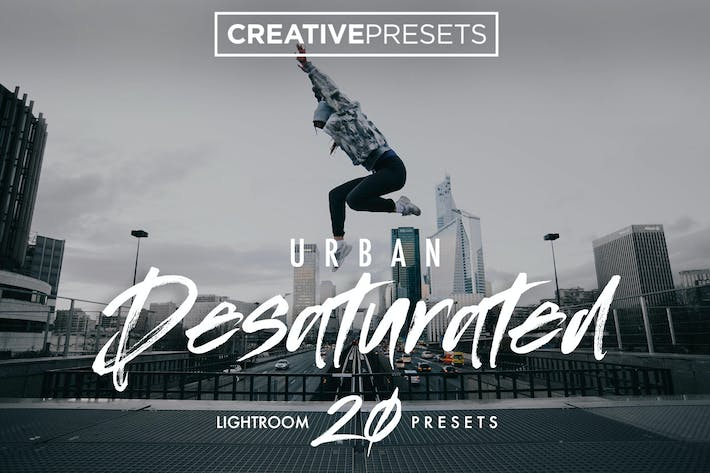 Thumbnail for Urban Desaturated Lightroom Presets