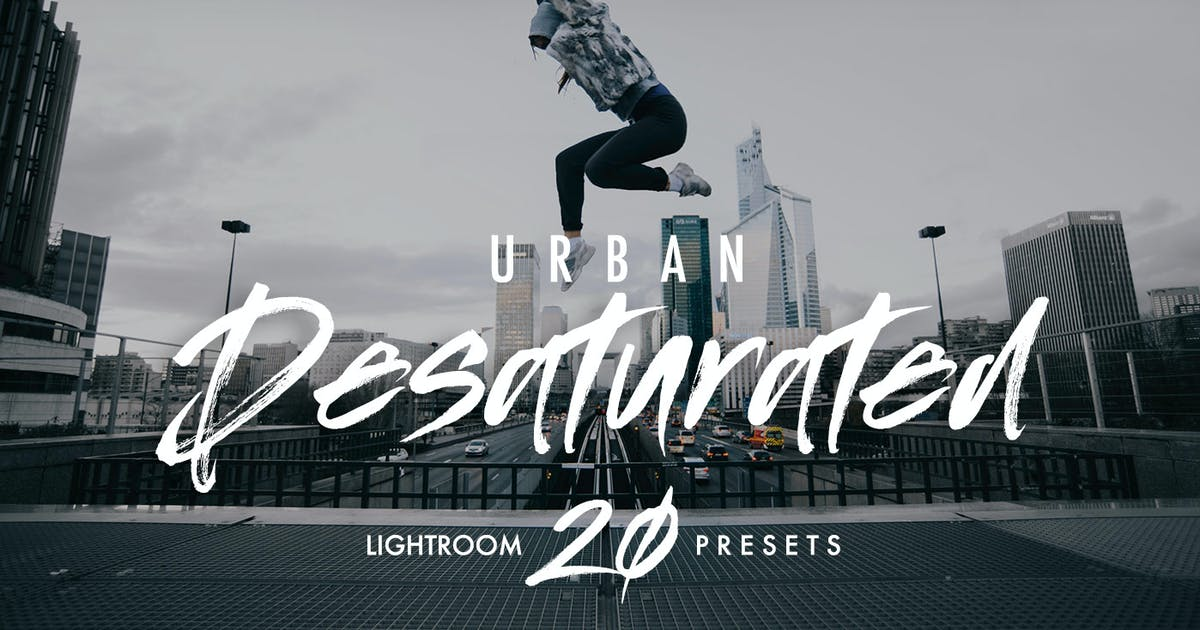 Download Urban Desaturated Lightroom Presets by 2FX