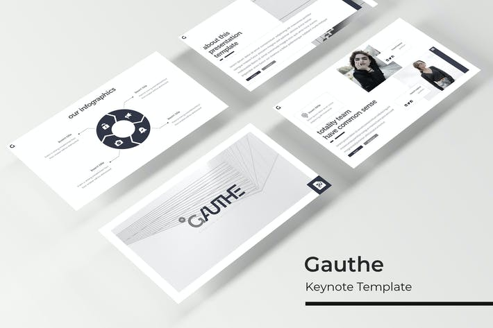 Thumbnail for Gauthe - Keynote Vorlage