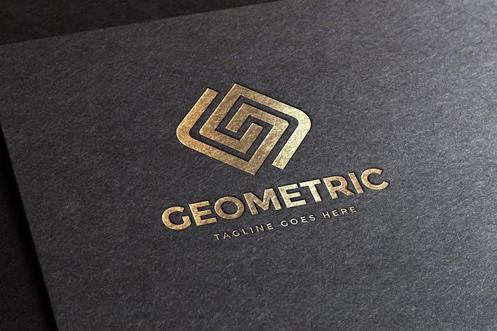 Thumbnail for Geometric Letter G Logo Template