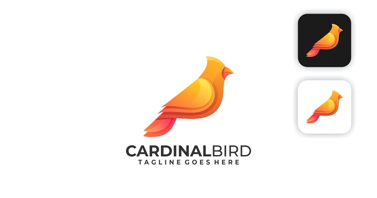 Download Cardinal Bird Gradient Logo by artnivora_std