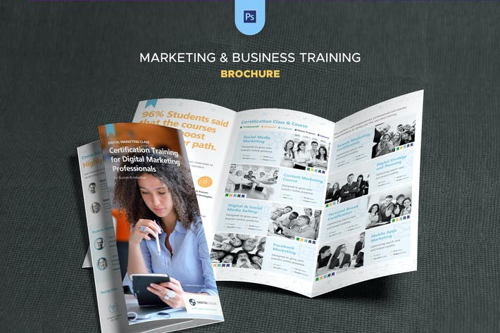 Thumbnail for Marketing & Business Training Brochure