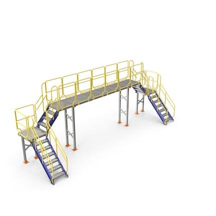 Industrielle Brücke