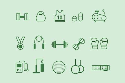 15 Gym Icons