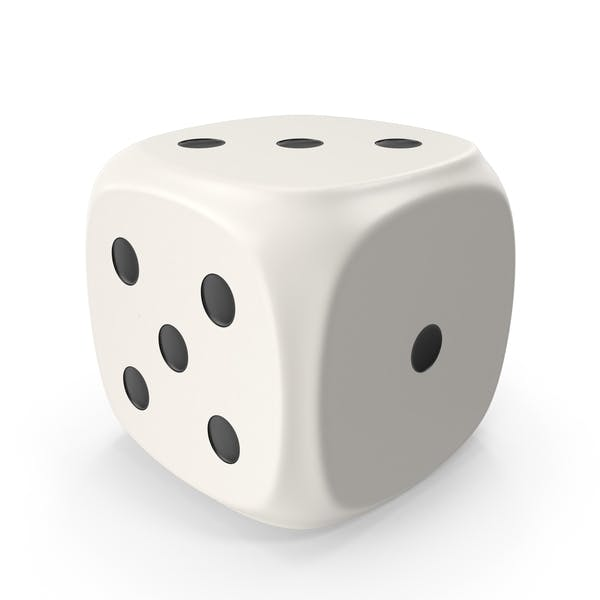 Thumbnail for White Six Sided Die