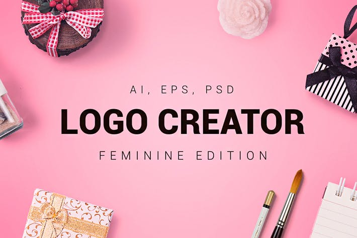 Cover Image For Feminine Logo Creator