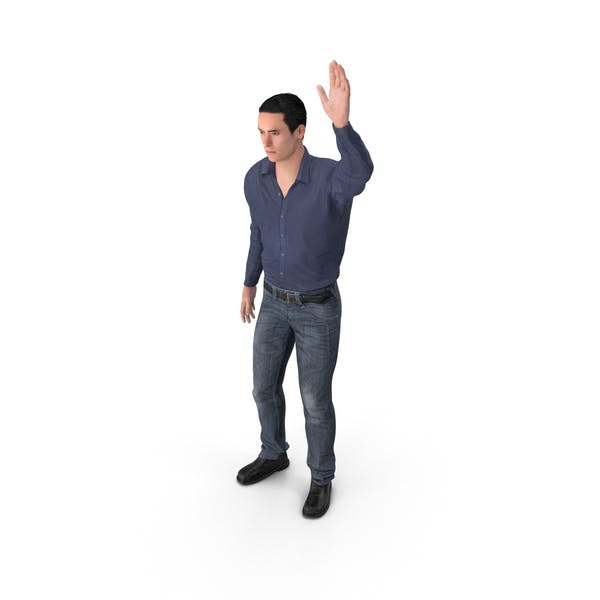 Thumbnail for Casual Man James Waving