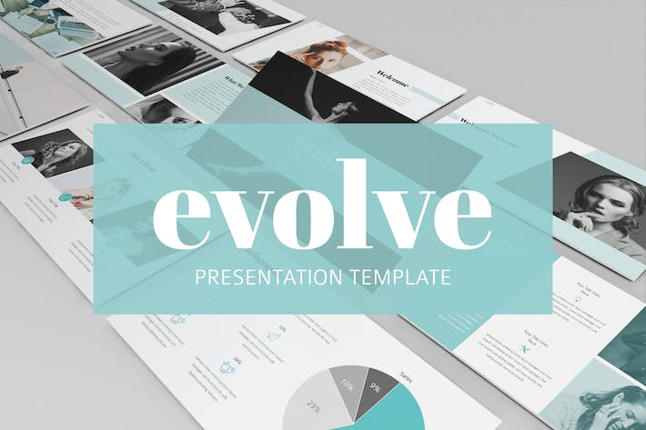 Thumbnail for Evolve Presentation - Powerpoint Template