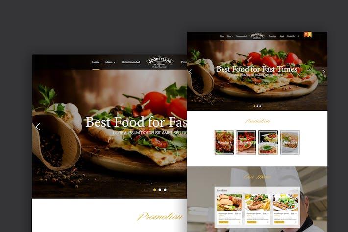 Thumbnail for Food Order Website Design Exploration