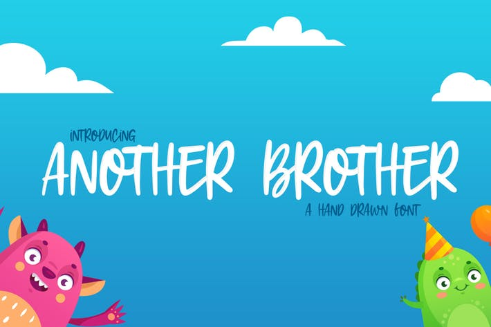 Thumbnail for Another Brother Font