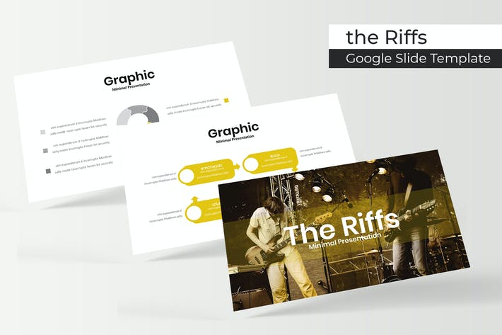 Cover Image For The Riffs - Plantilla de Presentación de Google