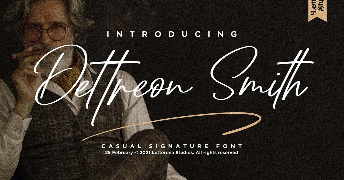 Download Dattreon Smith Signature LS by GranzCreative