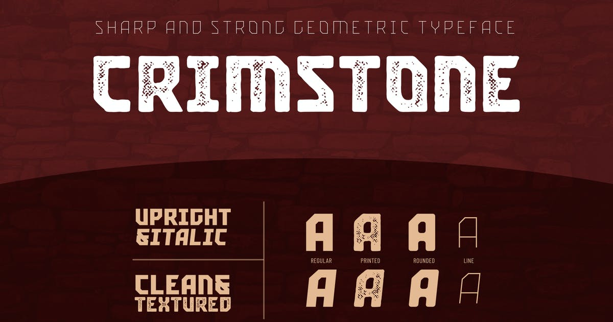 Download Crimstone by Locomotype