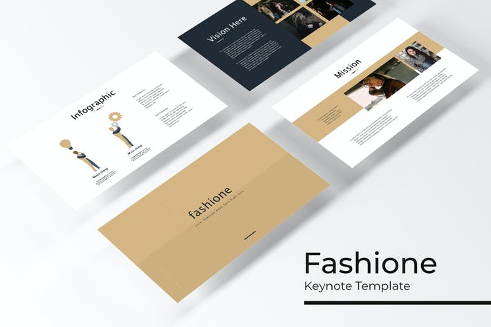 Thumbnail for Fashione - Keynote Vorlage